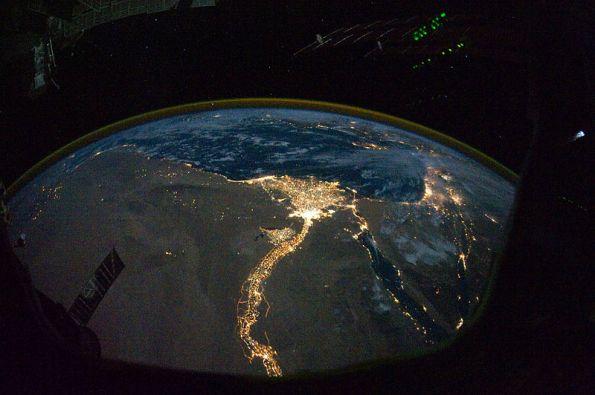 Nile_River_Delta_at_Night
