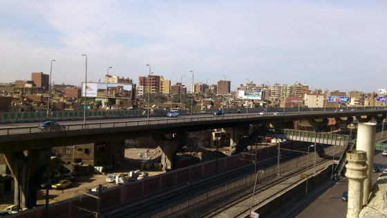 Flyover in Cairo. Source: Marwan Abdel Rahman