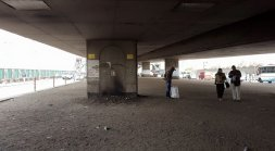Empty and underused spaces under bridges in Cairo. Source: author