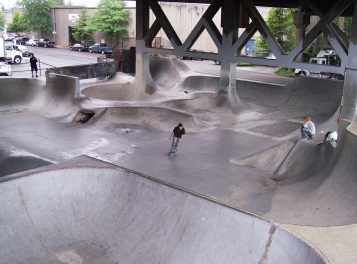 Burnside Skate Park. Source: Rufus Kevin Guy via Flickr