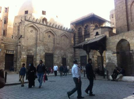 Al-Mu'izz li-Dîn Allah Street with renovated monuments; not all of monuments are open for visits – photo: LP